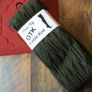2/$18🧦Army Green OTK Socks 🧦